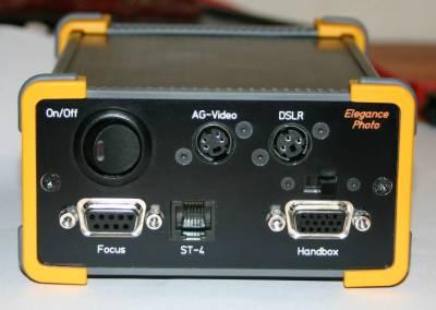 LittleFoot Elegance Photo Controll Unit Vorderseite mit Hauptschalter